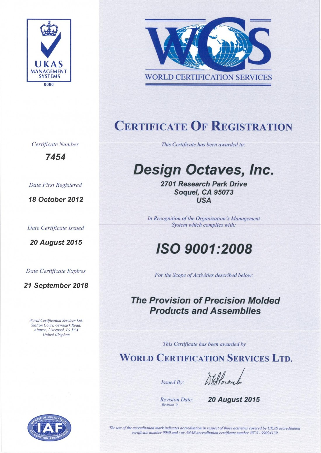 Iso 90012008 design octaves quality engineering iso 9001 xflitez Images